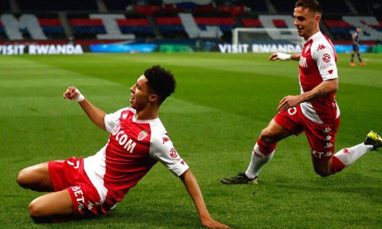Παρί Σεν Ζερμέν – Μονακό 0-2: Ζόρια για τους πρωταθλητές