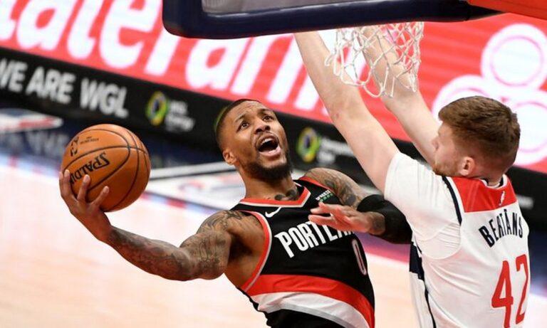 NBA Top 10: Στην κορυφή ο «Air» Λίλαρντ (vid)