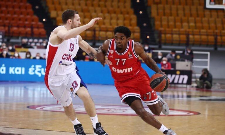 Ολυμπιακός- ΤΣΣΚΑ Μόσχας 74-75 (ΤΕΛΙΚΟ)