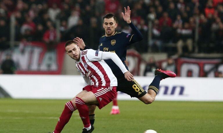 Ο Ολυμπιακός θα δώσει στο Καραϊσκάκη το πρώτο παιχνίδι με την Άρσεναλ για τους «16» του Europa League.
