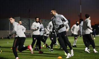 Ο Ολυμπιακός ολοκλήρωσε την προετοιμασία του για την αναμέτρηση με τον Βόλο, όπου στην αποστολή είνσι 22 ποδοσφαιριστές.