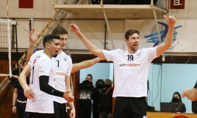 ΟΦΗ – ΠΑΟΚ 0-3 σετ: Δυσκολεύτηκε αλλά νίκησε ξανά (vid)