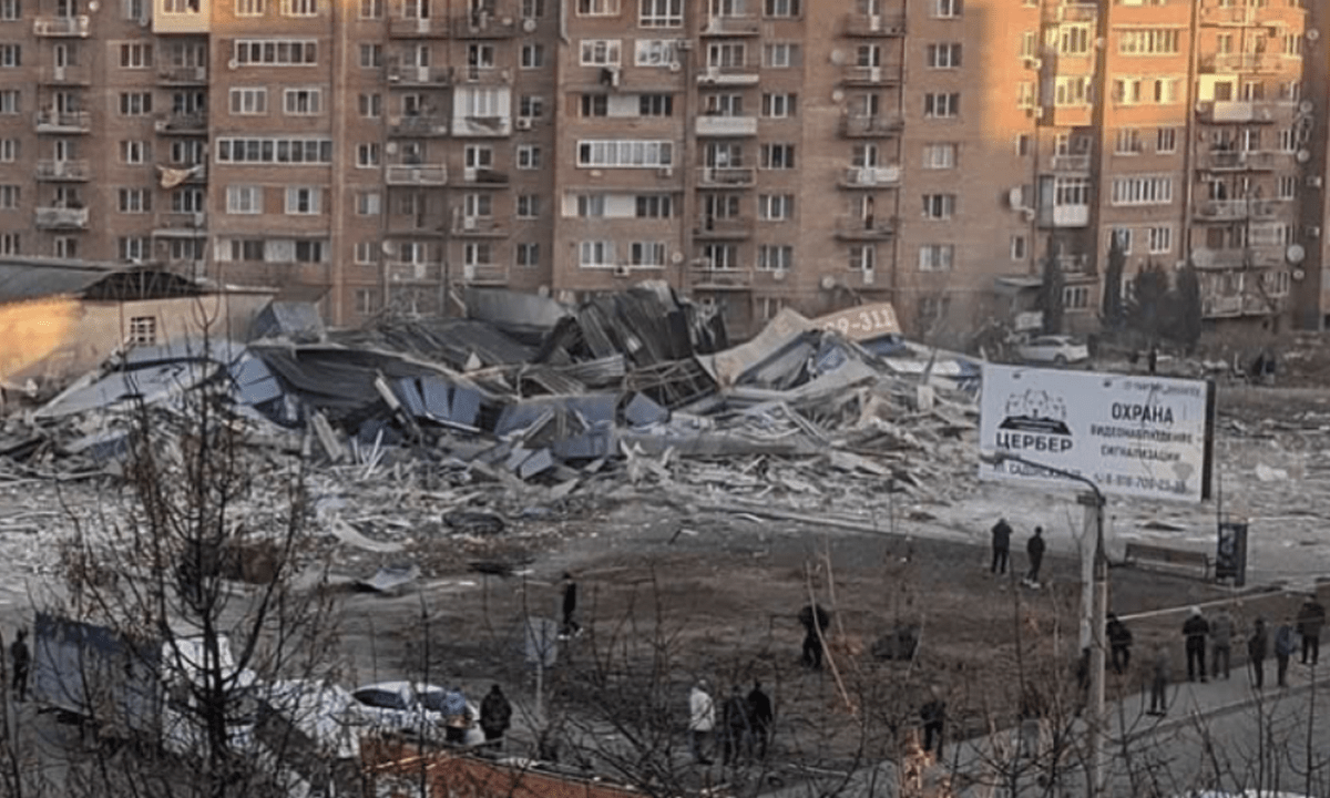 Ρωσία-Σούπερμαρκετ: Σημειώθηκε ισχυρή έκρηξη