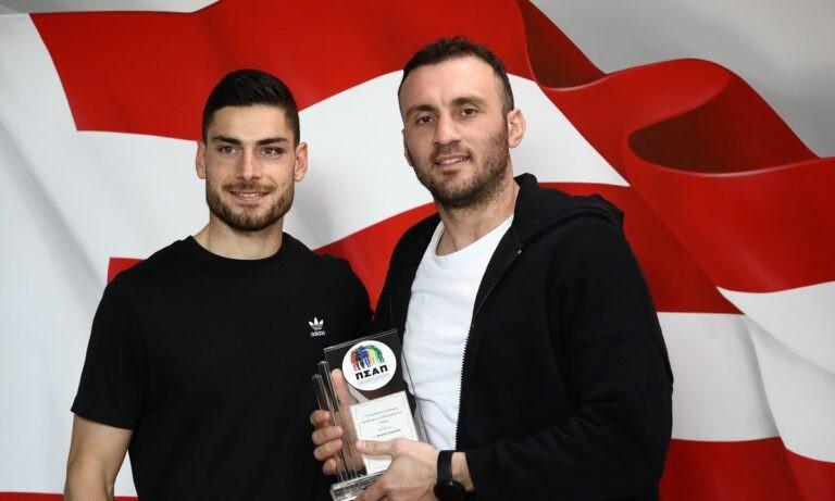 Τοροσίδης: Βραβεύτηκε από τον ΠΣΑΠ για την προσφορά του στο ποδόσφαιρο