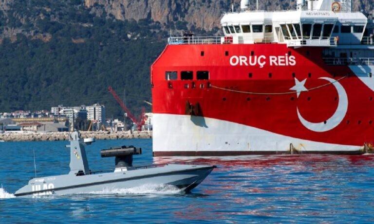 Ελληνοτουρκικά: Η Τουρκία γεμίζει την Αν. Μεσόγειο με drone πλοία ULAQ