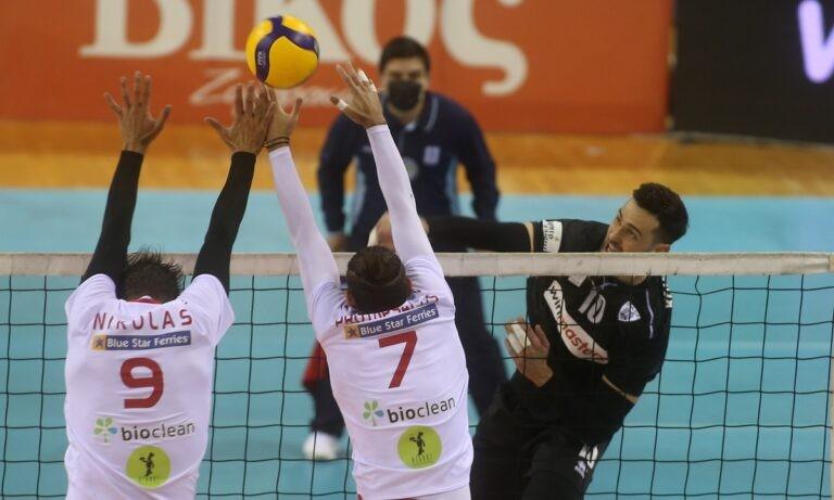 Volley League: Αναβλήθηκαν το Φοίνικας – ΠΑΟΚ και Παναθηναϊκός – Φίλιππος Βέροιας