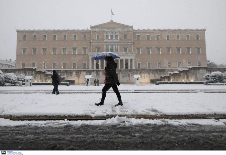 Χιονιάς: Προβλήματα σε ΜΕΤΡΟ και Ηλεκτρικό – Πως διεξάγεται η κυκλοφορία (UPDATE)