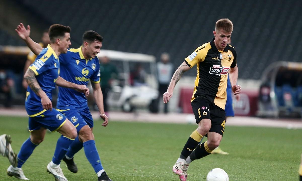 ΑΕΚ-Αστέρας Τρίπολης 2-2: Με αυτή την άμυνα δεν πάει… Ευρώπη!