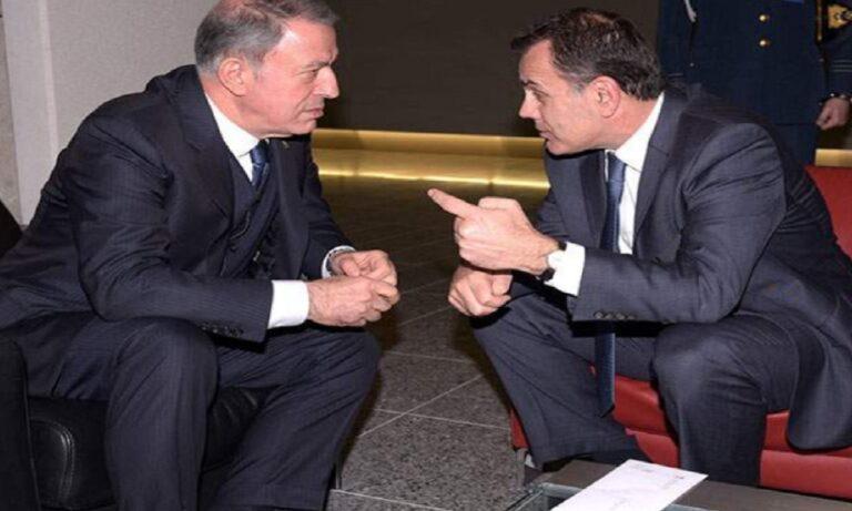 Ελληνοτουρκικά: O Ακάρ ζήτησε το κινητό του Παναγιωτόπουλου
