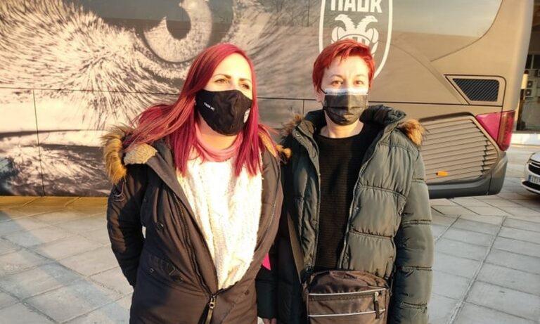 ΠΑΟΚ: Έγινε πράξη-Στην Τούμπα οι δύο αγωνίστριες κατά του καρκίνου που συγκλόνισαν!