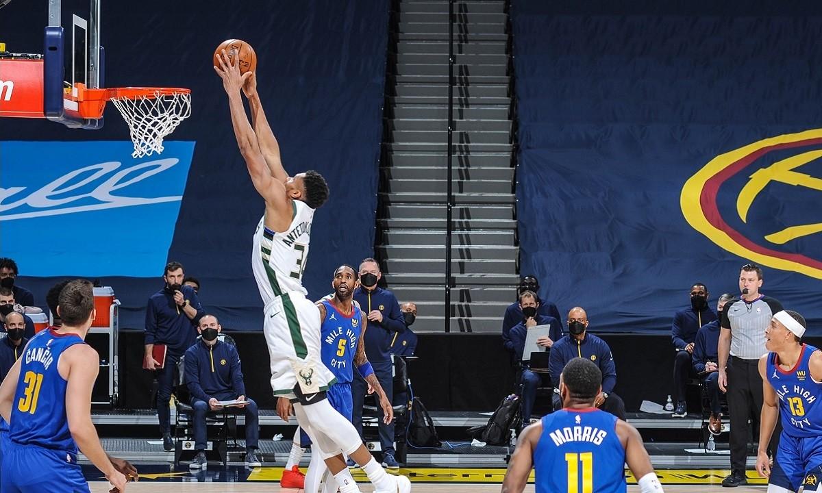 Αποτέλεσμα εικόνας για Denver Nuggets - Milwaukee Bucks 112-125
