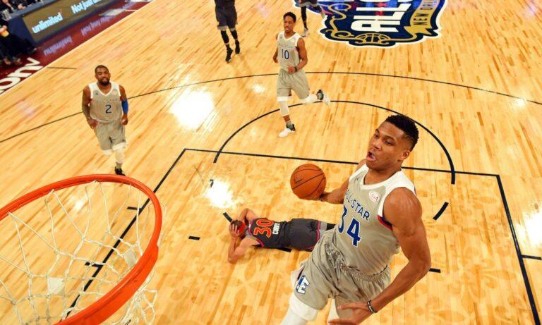 NBA All Star Game: Το εκκωφαντικό ντεμπούτο του Αντετοκούνμπο (vid)