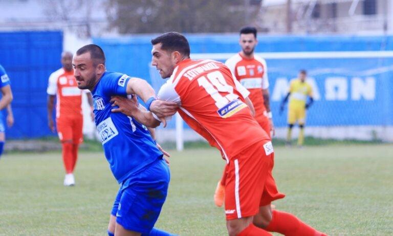 Απόλλων Λάρισας – Χανιά 1-0 (ΤΕΛΙΚΟ)