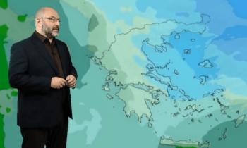 Τα ιδιαίτερα κλιματολογικά και θερμοκρασιακά φαινόμενα σχολίασε ο Σάκης Αρναούτογλου, ο οποίος στάθηκε στο ρεκόρ, που σημειώθηκε στη