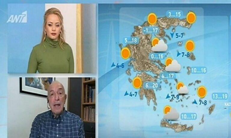 Αρνιακός Καιρός: Προειδοποίηση – Μέχρι και χιόνια από την Κυριακή!