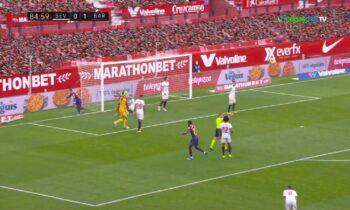 Σεβίλλη - Μπαρτσελόνα 0-2: Με Ντεμπελέ και Μέσι, στο -2 από την πρωτοπόρο Ατλέτικο Μαδρίτης