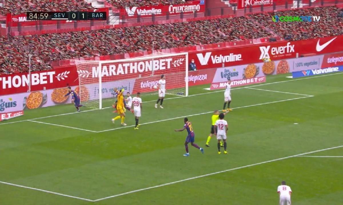 Σεβίλλη – Μπαρτσελόνα 0-2: Με Ντεμπελέ και Μέσι, στο -2 από την πρωτοπόρο Ατλέτικο Μαδρίτης
