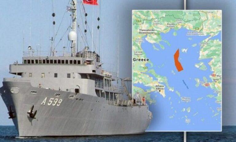 Ελληνοτουρκικά: Δυτικά της Λήμνου κινείται το Τσεσμέ – Έφτασε ήδη στην περιοχή της ΝΑΥΤΕΧ!
