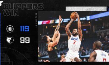 NBA Αποτελέσματα: Εύκολες νίκες για Κλίπερς – Γουόριορς (vids)
