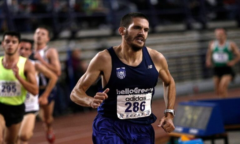 Στίβος-Πανελλήνιο κλειστού: Ντάμπλ ο Δημητράκης κέρδισε και τα 3.000μ