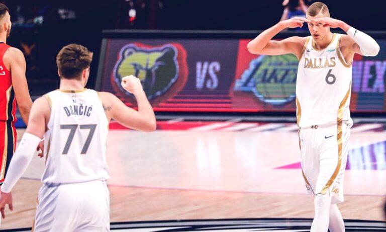 NBA αποτελέσματα: Show Ντόντσιτς-Πορζίνγκις, «καθάρισε» ο Λέοναρντ (vids)