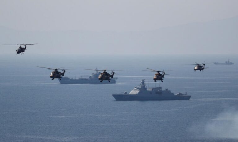 Eλληνοτουρκικά: Πάλι έξω όλος ο τουρκικός στόλος – Απαντά η Ελλάδα