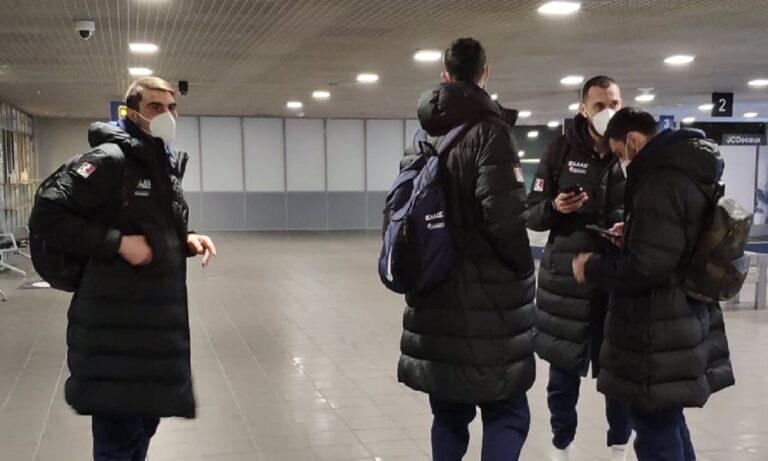 Εθνική ομάδα: Έφτασε στη Ρίγα (pics)