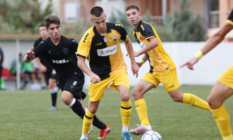 ΑΕΚ: 5 παίκτες των Ακαδημιών στην Εθνική Νέων