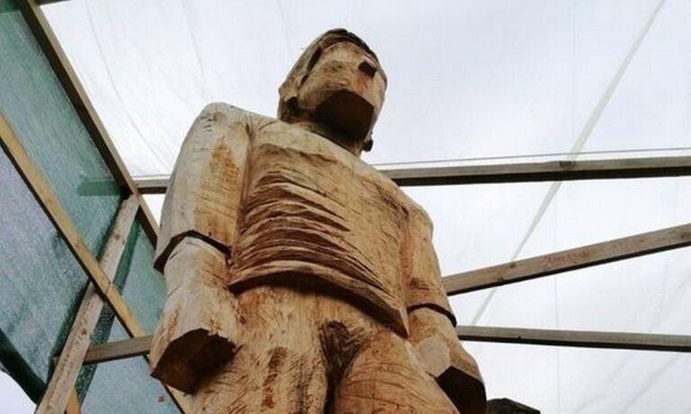 Παναθηναϊκός: Την άνοιξη στη Λεωφόρο ο ανδριάντας του Γιώργου Καλαφάτη