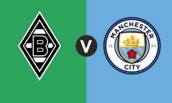 Γκλάντμπαχ-Μάντσεστερ Σίτι: Παρακολουθήστε live από το Sportime την αναμέτρηση για τη φάση των «16» του Champions League. Σέντρα στις 22:00.