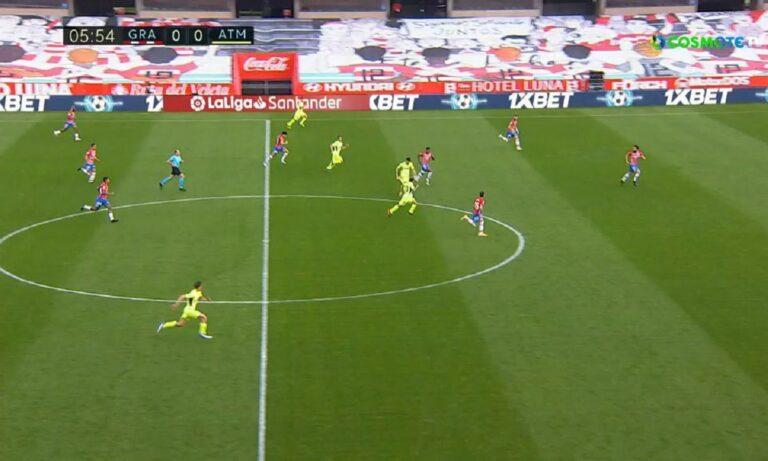 Γρανάδα – Ατλέτικο Μαδρίτης 1-2: Ασταμάτητη, στο +8 και με ματς λιγότερο (vid)
