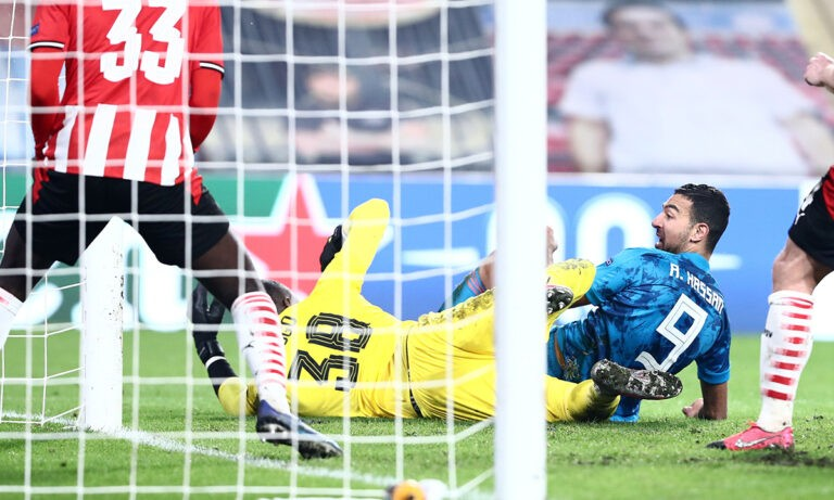 Αϊντχόφεν – Ολυμπιακός: Γκολ πρόκρισης από τον Χασάν! (vid)