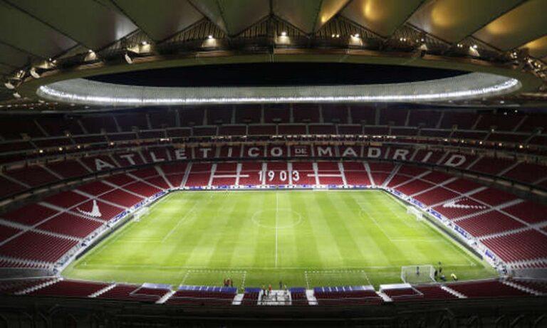 «Wanda Metropolitano»: Έγινε εμβολιαστικό κέντρο κατά του κορονοϊού
