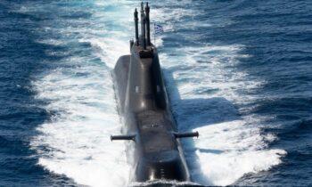 Ελληνοτουρκικά: To υποβρύχιο Παπανικολής (S120) σε ρόλο Εχθρικής Απεικόνισης στην «DYNAMIC MANTA 2021», όπως θα δείτε στις παρακάτω φωτογραφίες.
