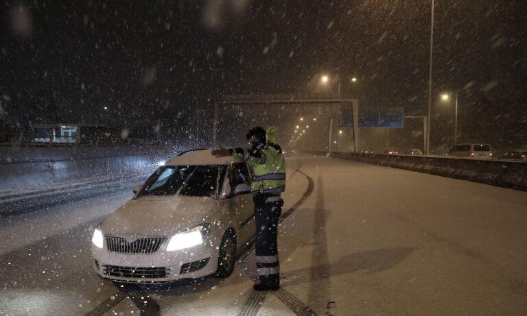 Κακοκαιρία Μήδεια: Αυτοί οι δρόμοι είναι κλειστοί από τα χιόνια – Αυτοί χρειάζονται αλυσίδες