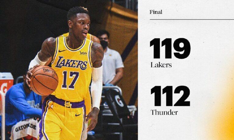 NBA Αποτελέσματα: Στην παράταση οι Λέικερς, δεν τα κατάφεραν οι Γουόριορς (vids)