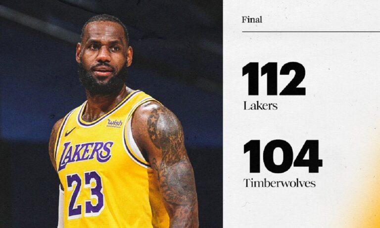 NBA Αποτελέσματα: Επιστροφή στις νίκες για τους Λέικερς (vids)