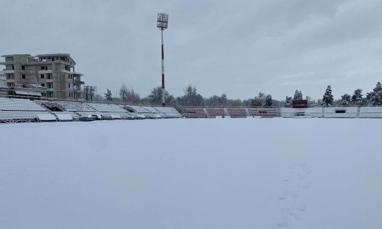 Λάρισα-ΑΕΚ: Πολύ δύσκολα να γίνει το ματς στο… λευκό Αλκαζάρ σήμερα και αύριο!