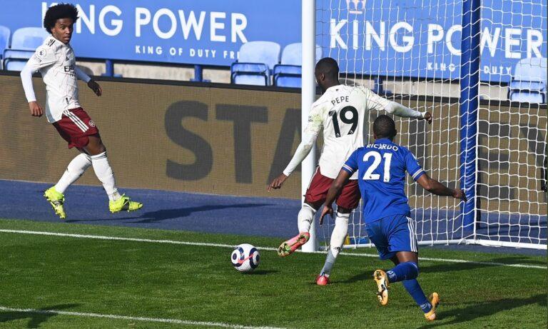 Λέστερ-Άρσεναλ: Σαρωτικοί είναι οι «κανονιέρηδης» στο «Στάδιο King Power», σε παιχνίδι για την 26η αγωνιστική της Premier League.