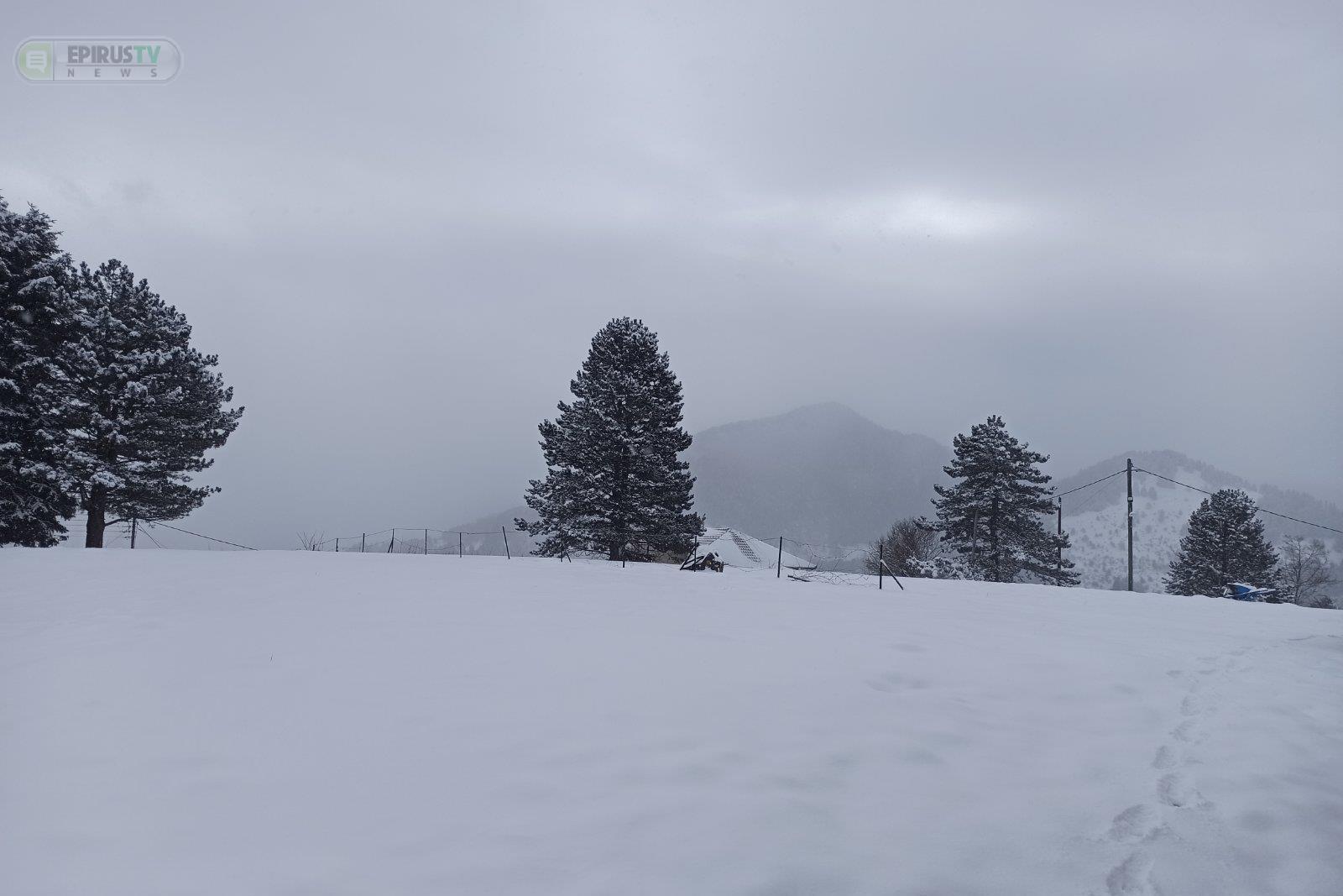 Ιωάννινα - Κακοκαιρία Μήδεια: Στα 50 εκατοστά το χιόνι! - Καθαρισμός των δρόμων λόγω παγετού