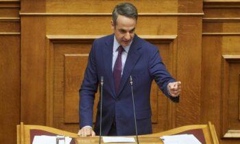 Μητσοτάκης: «Κύριε Τσίπρα, μας κατηγορείτε για παιδεραστία και πρέπει να πάρετε θέση!»