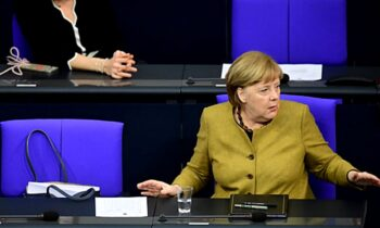 Η Γερμανίδα Καγκελάριος Άνγκελα Μέρκελ έγινε Viral την προηγούμενη εβδομάδα μετά από την ομιλία της διάρκειας 22 λεπτών στη Bundestag σχετικά