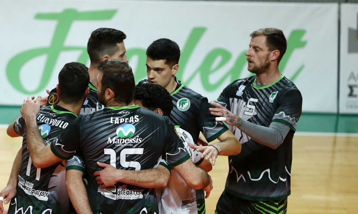 Volley League Ανδρών: Κυρίαρχος ο Μίλωνας