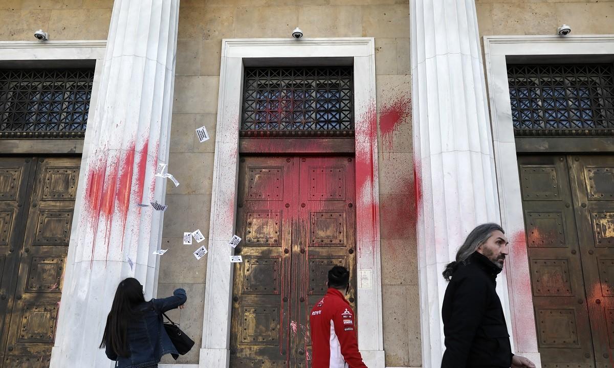 Επεισόδια στο κέντρο της Αθήνας με χρήση χημικών