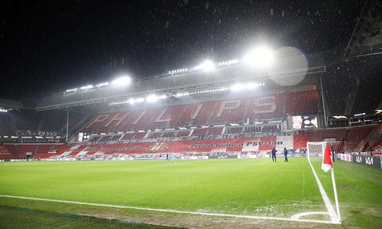 Αϊντχόφεν – Ολυμπιακός: Αρκετή βροχή στην Ολλανδία (pics)