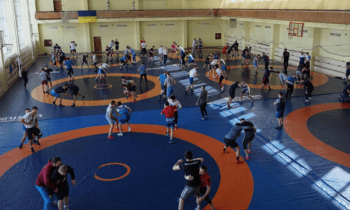 Πάλη: Στην Ουκρανία εκτός από τη Μαρία Πρεβολαράκη βρίσκεται και η προολυμπιακή ομάδα της Ελευθέρας, όπου συμμετέχουν σε καμπ προετοιμασίας.