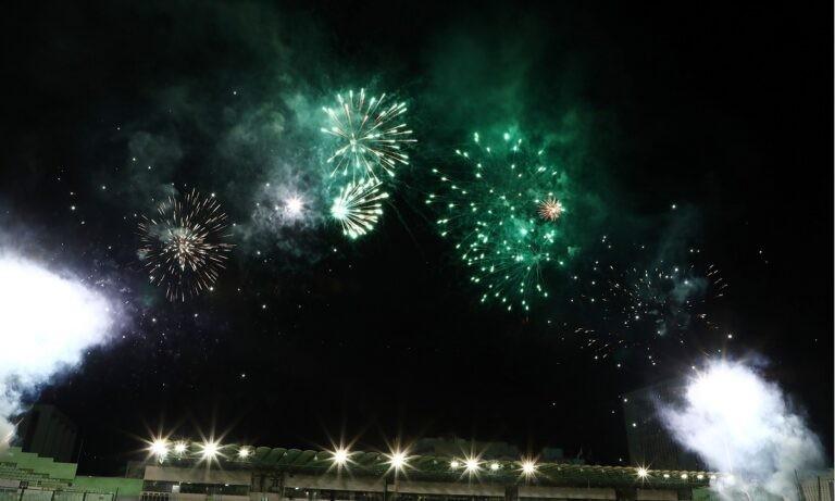 Παναθηναϊκός – Ολυμπιακός: Το πανό που σηκώθηκε στη Θύρα 13 (pic)
