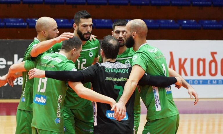 Volley League Ανδρών: Δύσκολα ο Παναθηναϊκός, άνετα ο Ολυμπιακός
