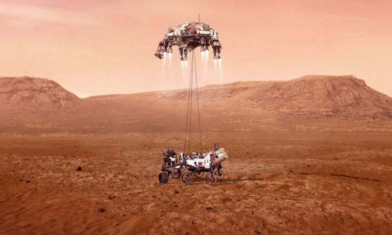Ιστορική στιγμή: Το «Perseverance» προσεδαφίστηκε στον Άρη – Ξεκινά η αναζήτηση εξωγήινης ζωής