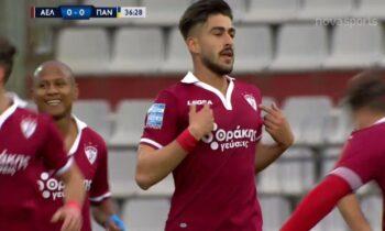 ΑΕΛ - Παναιτωλικός 1-0: Ο Πινακάς τις δίνει ελπίδες - Πρώτη εντός έδρας νίκη για τους Θεσσαλούς
